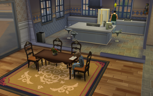 Playing  Sims 4 by Gramcrackers - Page 2 SandyB59Donaldgettingsomehomeworkhelp_zps6d850165
