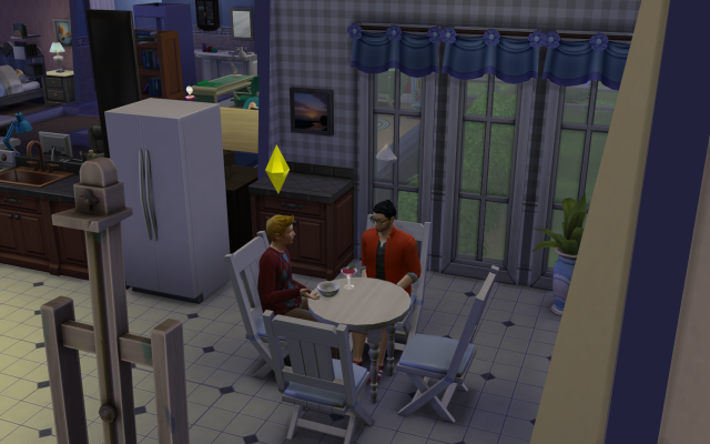 Playing  Sims 4 by Gramcrackers SandyBTristanmakeshimselfathome_zpsfc2b6d4a