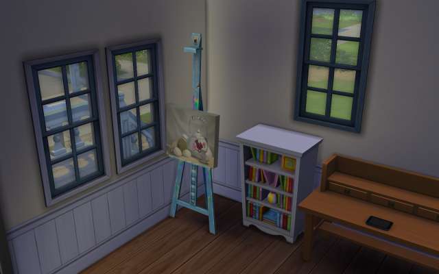 Playing  Sims 4 by Gramcrackers SandyBearlypainting09-03-14_zps7714f330