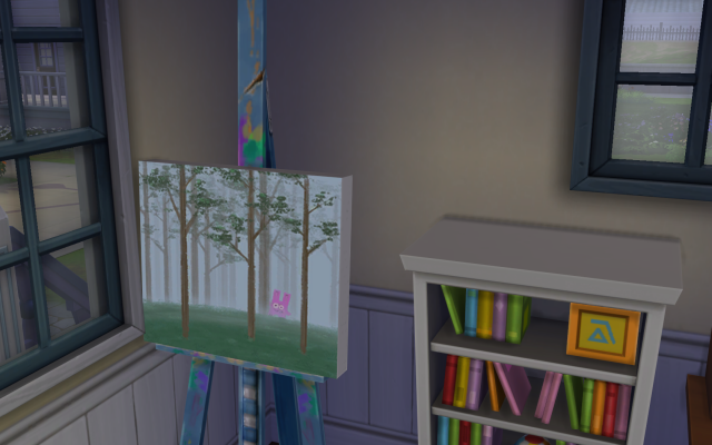 Playing  Sims 4 by Gramcrackers SandyBpainting09-04-14_zpsaa0a1302