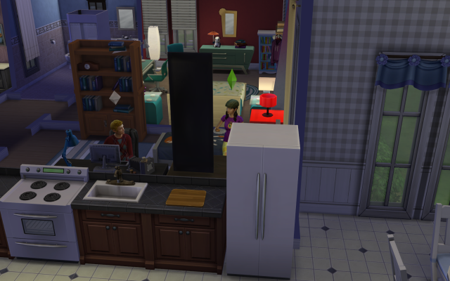 Playing  Sims 4 by Gramcrackers SandyBroomieschating09-10-14_zps252a44f0