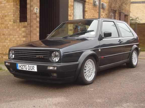 my old mk2 8v turbo Frontsidebbs