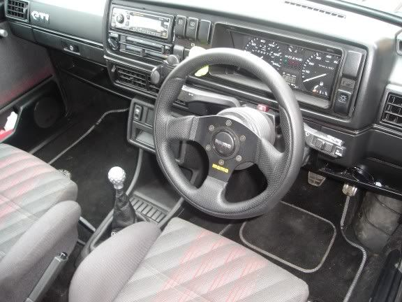 my old mk2 8v turbo Interior