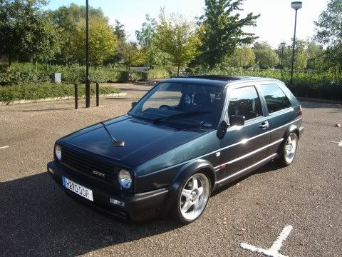 my old mk2 8v turbo Mygolf