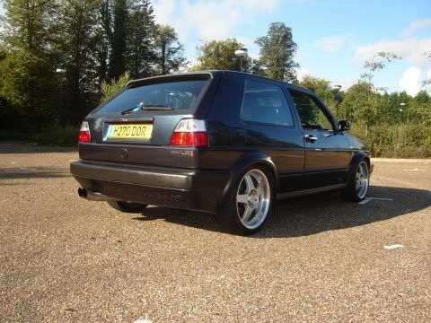 my old mk2 8v turbo Mygolf2