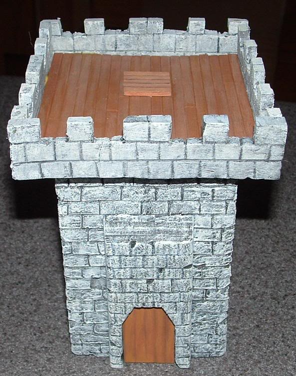 Ashton Sanders' WIP Thread Watchtower-front