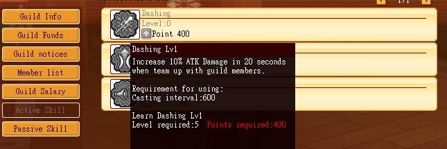 MAJ 11/10/2010 Activeskilldashing