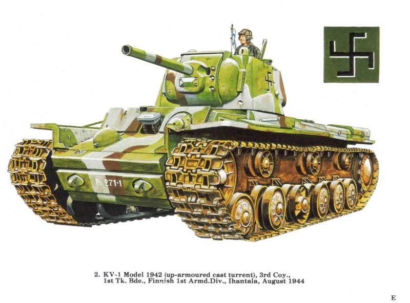 KV 1 finlandais ProfilKVI2