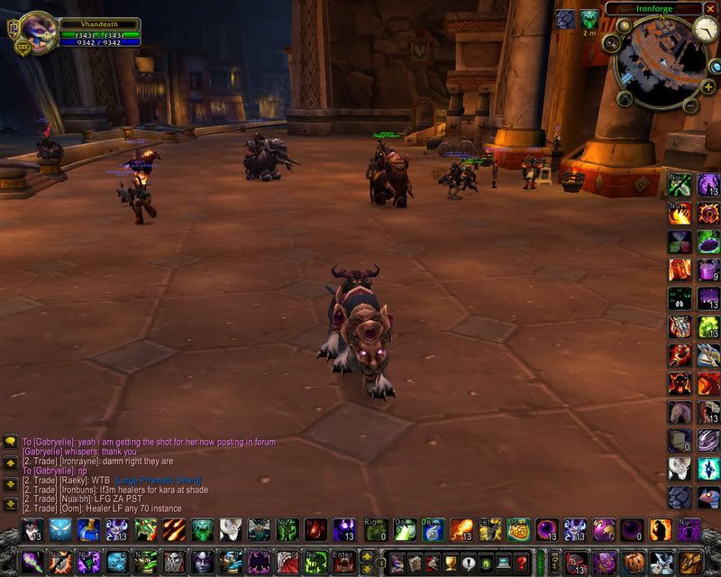 Video ---> the early vhandeath pvp'ing  (pre 503 resil) WoWScrnShot_033108_202654