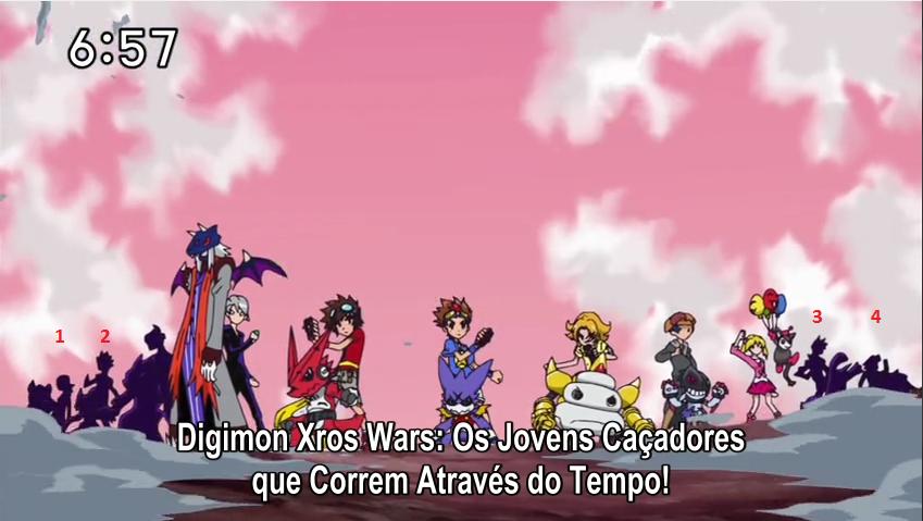 [Digimon Xros Wars: Hunters] DISCUSSÕES E SPOILER Quemeessapokemon