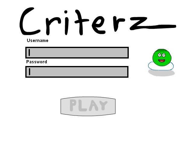 made a login screen and a sig!!! Critterzlogin
