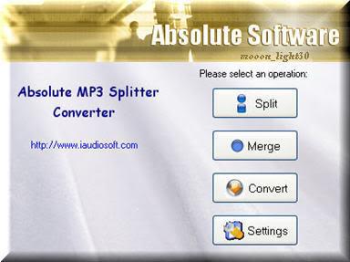 حصريا على احد الغربية اكبر مكتبة برامج بورتابل بدون تنصيب في تاريخ المنتديات AbsoluteMP3Splitter