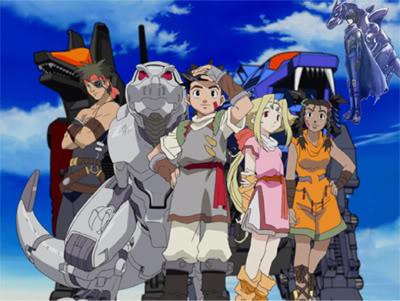 [Anime] Zoids Temporada Caotic century Portada2