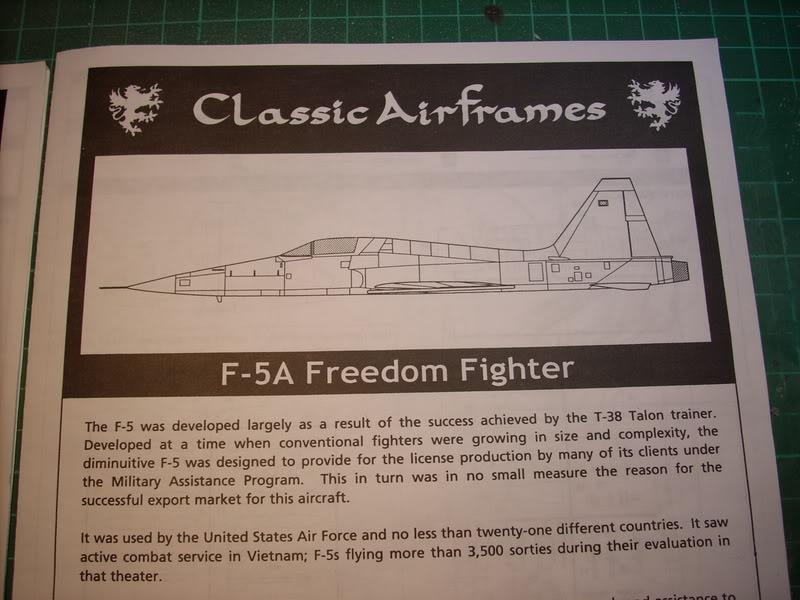 Northrop F-5A y F-5B Venezolanos Imagen562