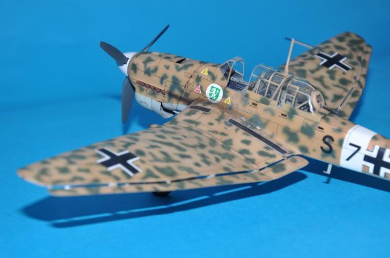 Junker Ju-87 B-2 Trop, africa. DSC_8967