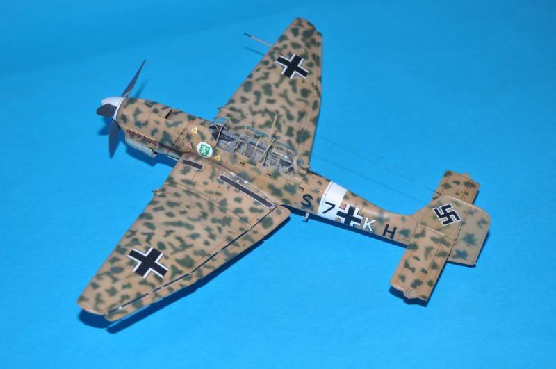 Junker Ju-87 B-2 Trop, africa. DSC_8968