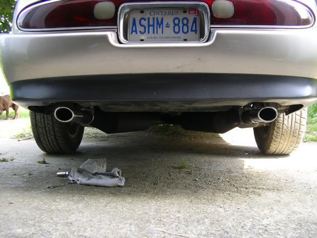 Write-Up: Custom Y-Split Exhaust Pipes IMGP3644