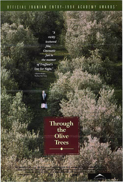 Zire Darakhatan Zeyton (1994) Abbas Kiarostami AtravsdasOliveiras-Poster