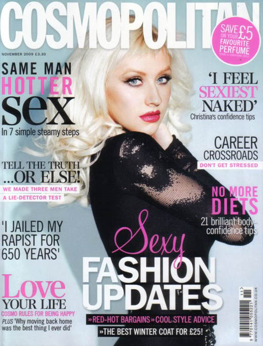 CHRISTINA AGUILERA - 'Burlesque' is coming - Page 2 Christina_Cosmopolitan_UK