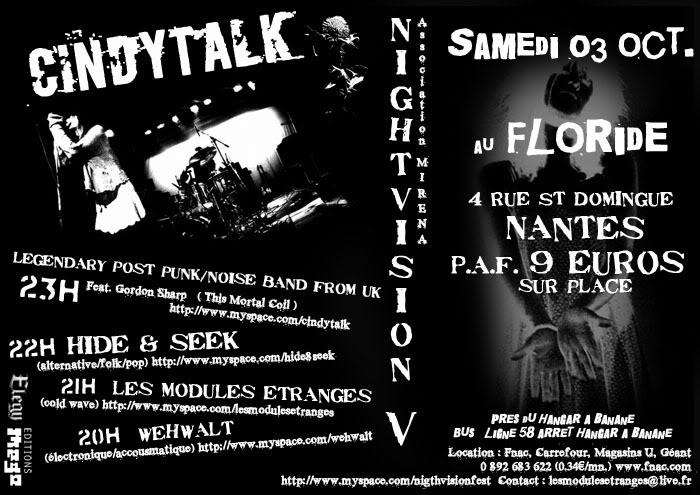 [Concert]Cindytalk + guests à Nantes le 03.10.09 au Floride FlyerCindyTalkWEB-1