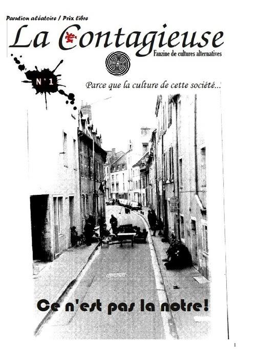 [Fanzine / Webzine] La Contagieuse N°1 La-contagieuse