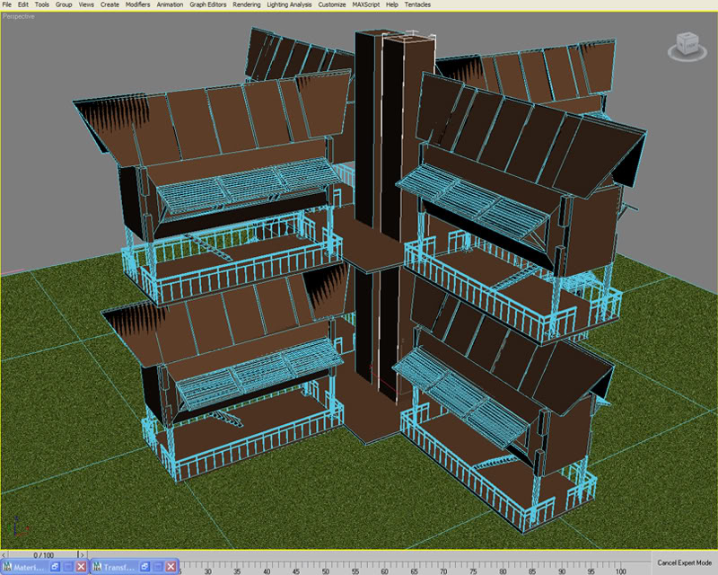 cooldomeng2000: Bahay Kubo of the Future (Go Mobile) WIP2
