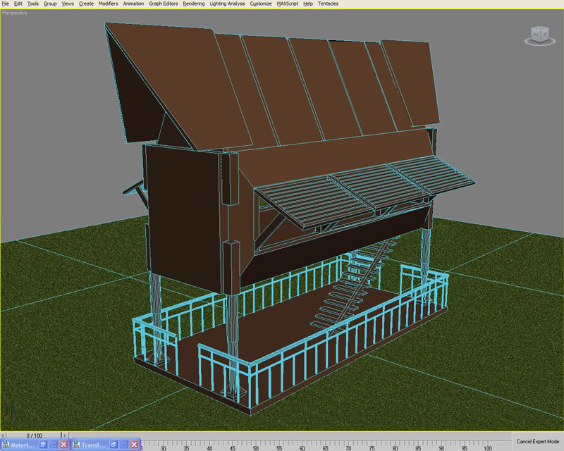 cooldomeng2000: Bahay Kubo of the Future (Go Mobile) WIP3