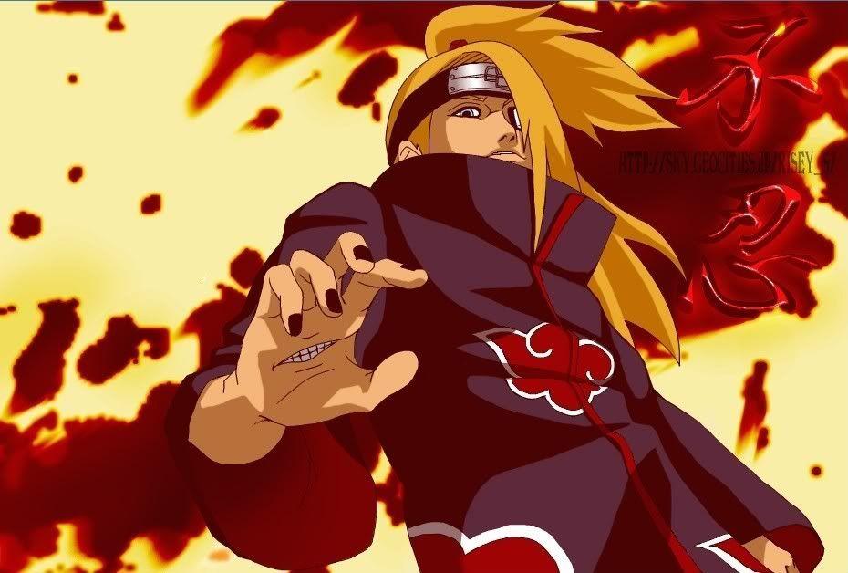 Galeria de Naruto Deidara_