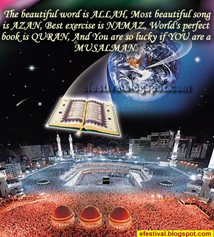 The Beautiful word is Allah, Most beautiful song is Azan Ismqu_08
