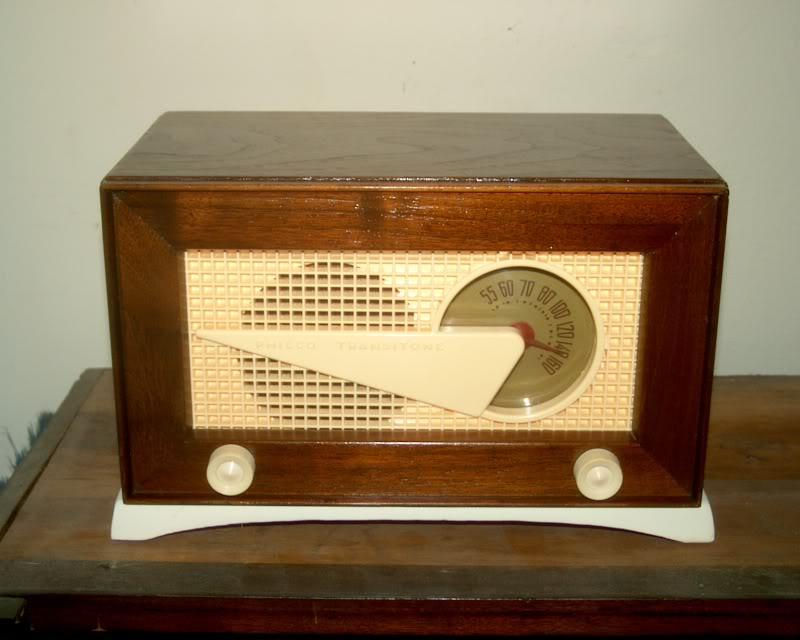 Philco 49-506 FLYING WEDGE RADIO RESTORED Greatfront