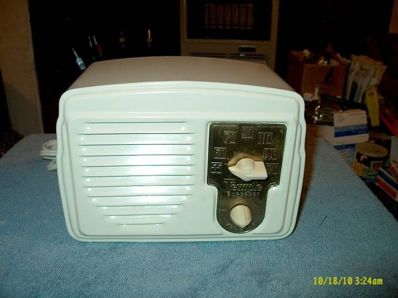 F/S:Temple Model G428 Metal Radio (SUPERHET)SOLD!! Templefront