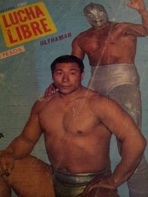 """Dick Togo (""""the backpacking wrestler"""") 3-121"""