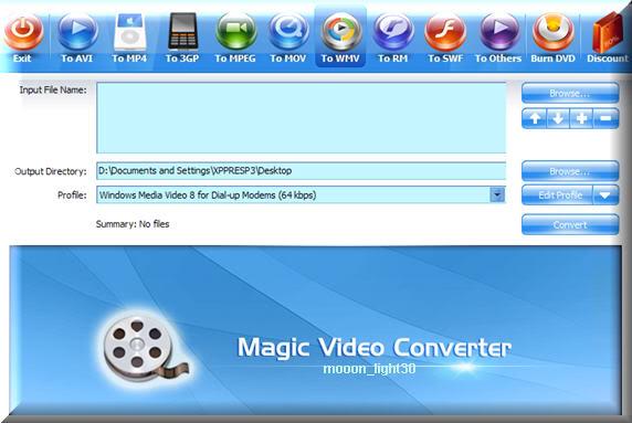 حصريا على احد الغربية اكبر مكتبة برامج بورتابل بدون تنصيب في تاريخ المنتديات MagicVideoConverter