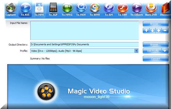 حصريا على احد الغربية اكبر مكتبة برامج بورتابل بدون تنصيب في تاريخ المنتديات MagicVideoStudio