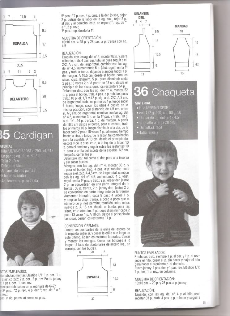 chaqueta para niño de 2 años Chaqueta1