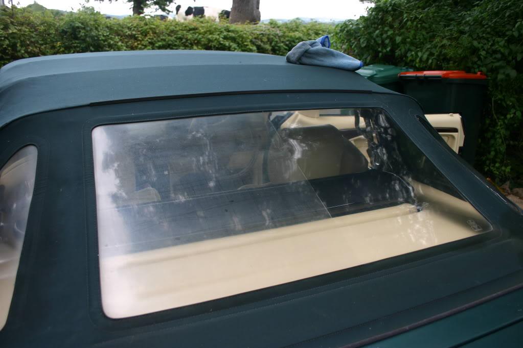 [ CRISTALES ] ¿Cómo pulir la luneta trasera del 306 cabrio SIN cambiarla? IMG_6323