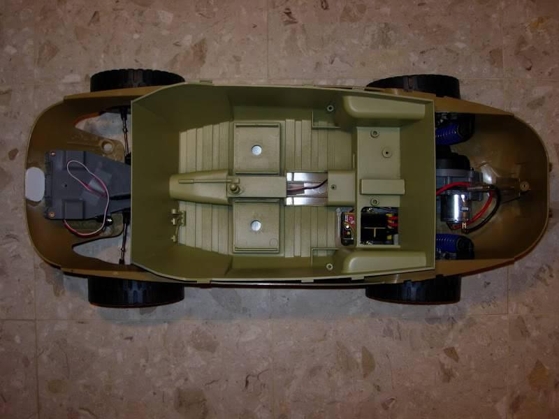 "vehicle - Archive ""old"" work: RC 21st C Schwimmwagen conversion/scale detailing 2007-09-26DSCN10830001"