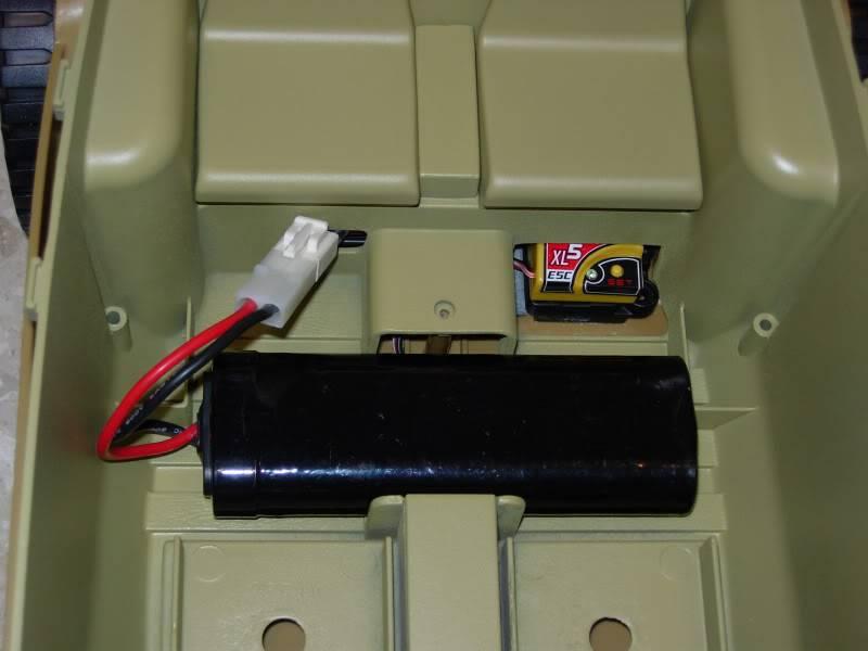 "vehicle - Archive ""old"" work: RC 21st C Schwimmwagen conversion/scale detailing 2007-09-26DSCN10850003"