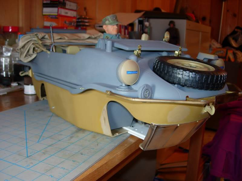 "vehicle - Archive ""old"" work: RC 21st C Schwimmwagen conversion/scale detailing 2007-11-05DSCN11340011"