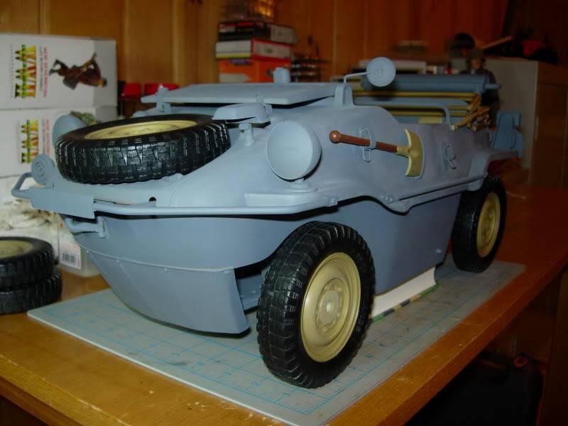 "vehicle - Archive ""old"" work: RC 21st C Schwimmwagen conversion/scale detailing 2007-11-23DSCN11490012"