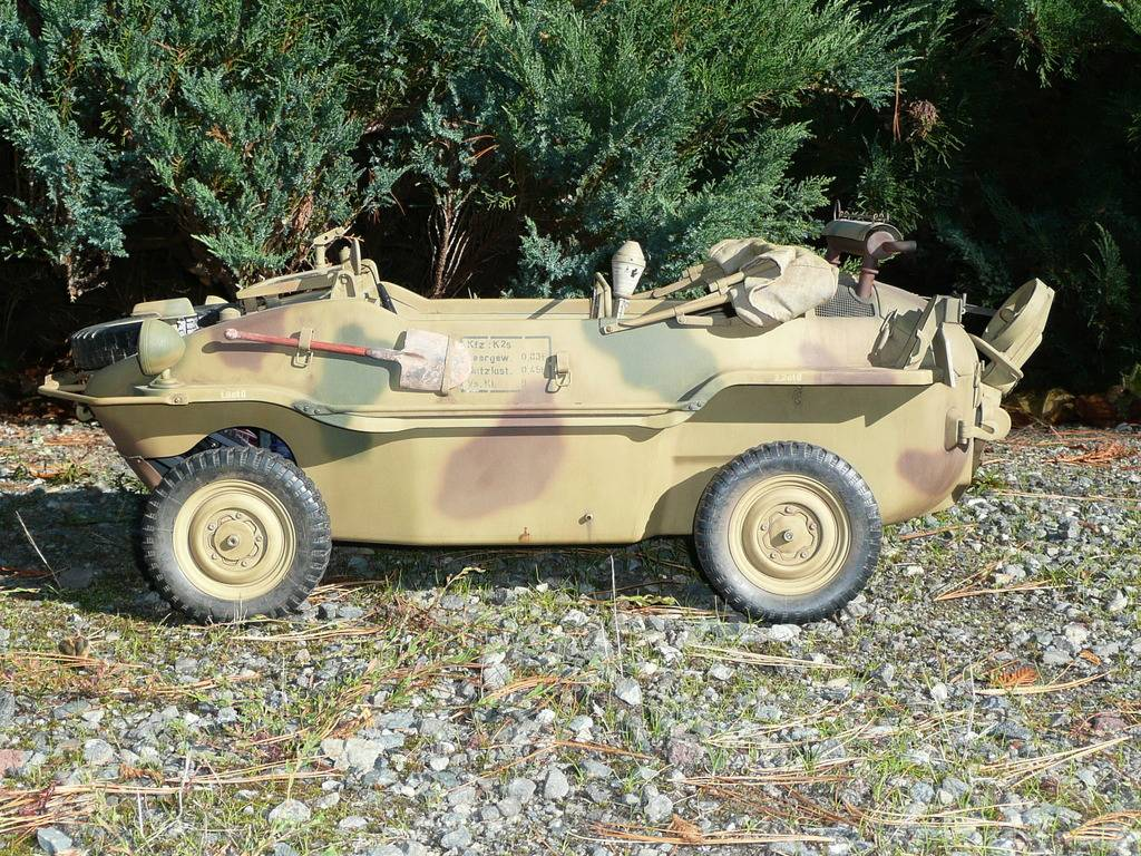 """vehicle - Archive """"old"""" work: RC 21st C Schwimmwagen conversion/scale detailing P1000445"""