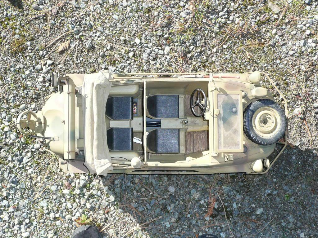 """vehicle - Archive """"old"""" work: RC 21st C Schwimmwagen conversion/scale detailing P1000446"""