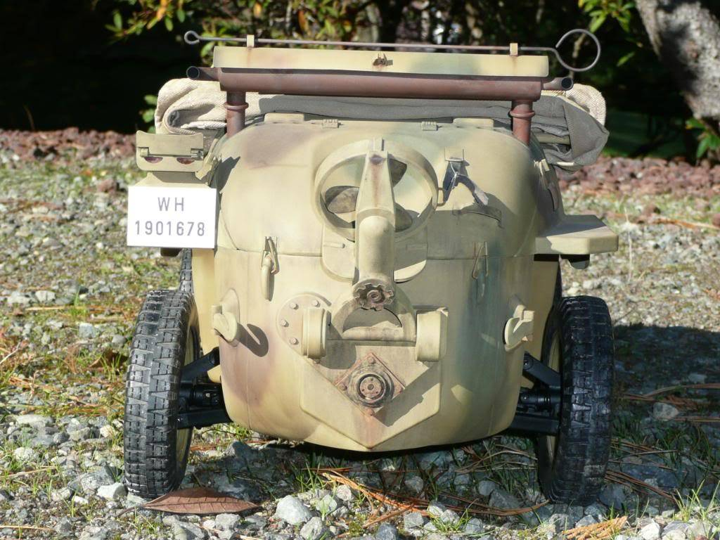 """vehicle - Archive """"old"""" work: RC 21st C Schwimmwagen conversion/scale detailing P1000447"""