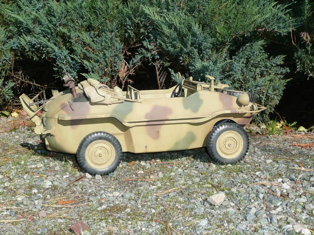 """vehicle - Archive """"old"""" work: RC 21st C Schwimmwagen conversion/scale detailing P1000450"""