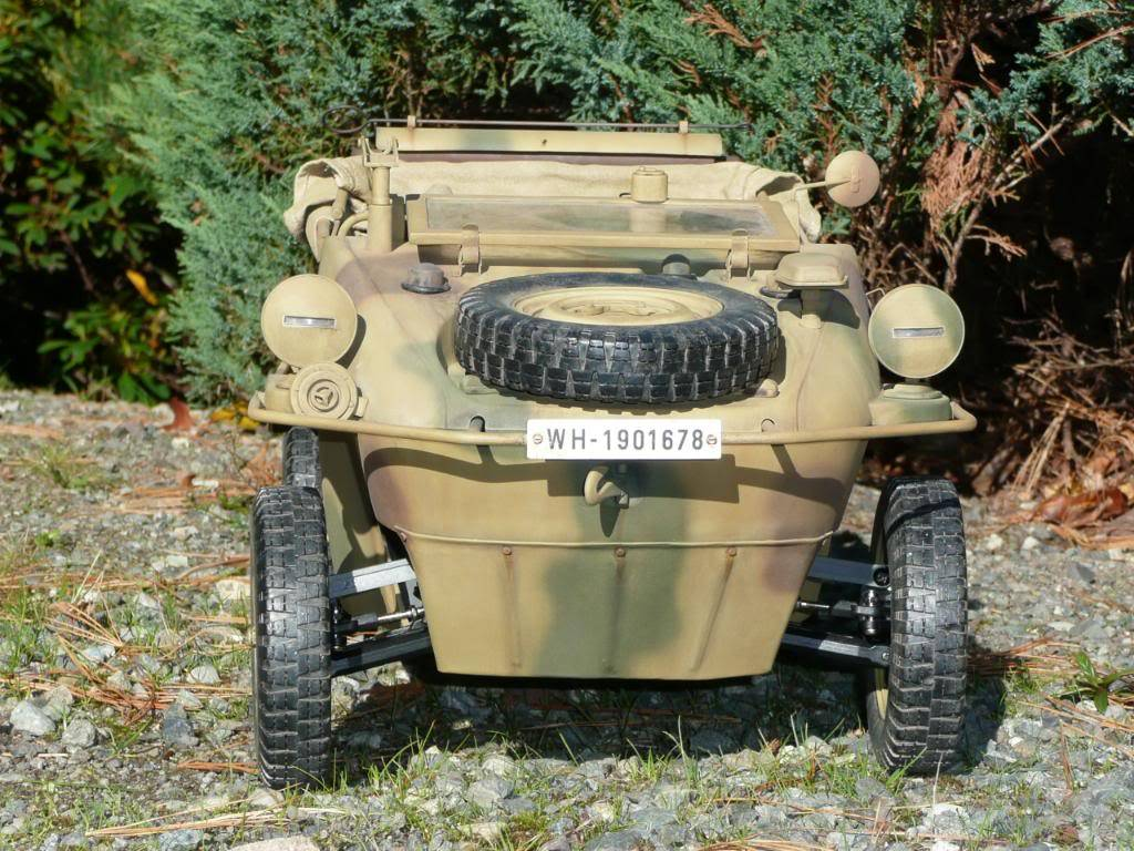 """vehicle - Archive """"old"""" work: RC 21st C Schwimmwagen conversion/scale detailing P1000451"""