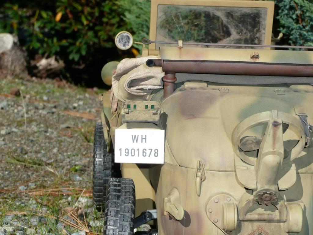 """vehicle - Archive """"old"""" work: RC 21st C Schwimmwagen conversion/scale detailing P1000456"""