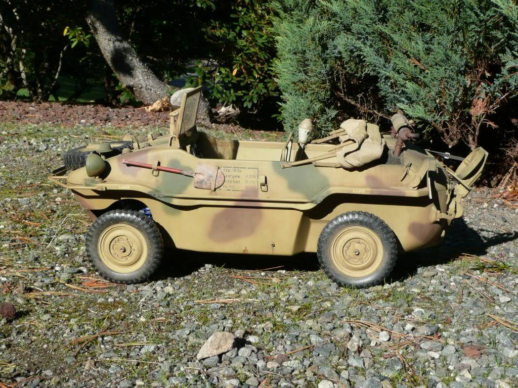 """vehicle - Archive """"old"""" work: RC 21st C Schwimmwagen conversion/scale detailing P1000457"""