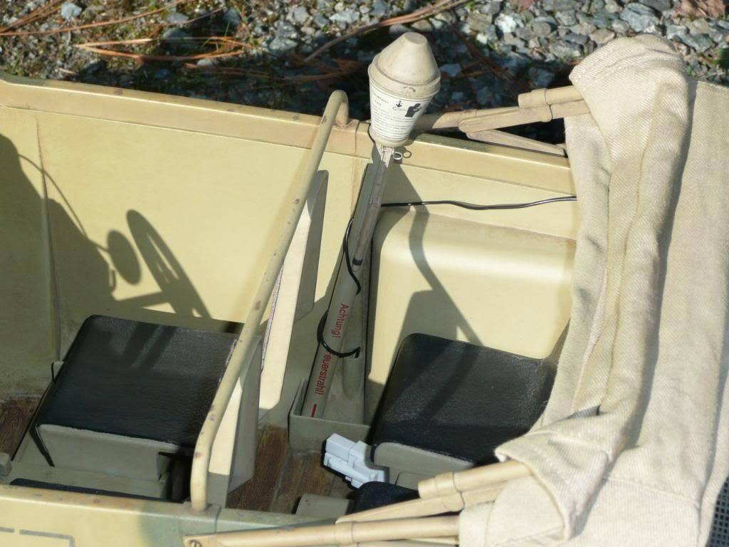 """vehicle - Archive """"old"""" work: RC 21st C Schwimmwagen conversion/scale detailing P1000460"""