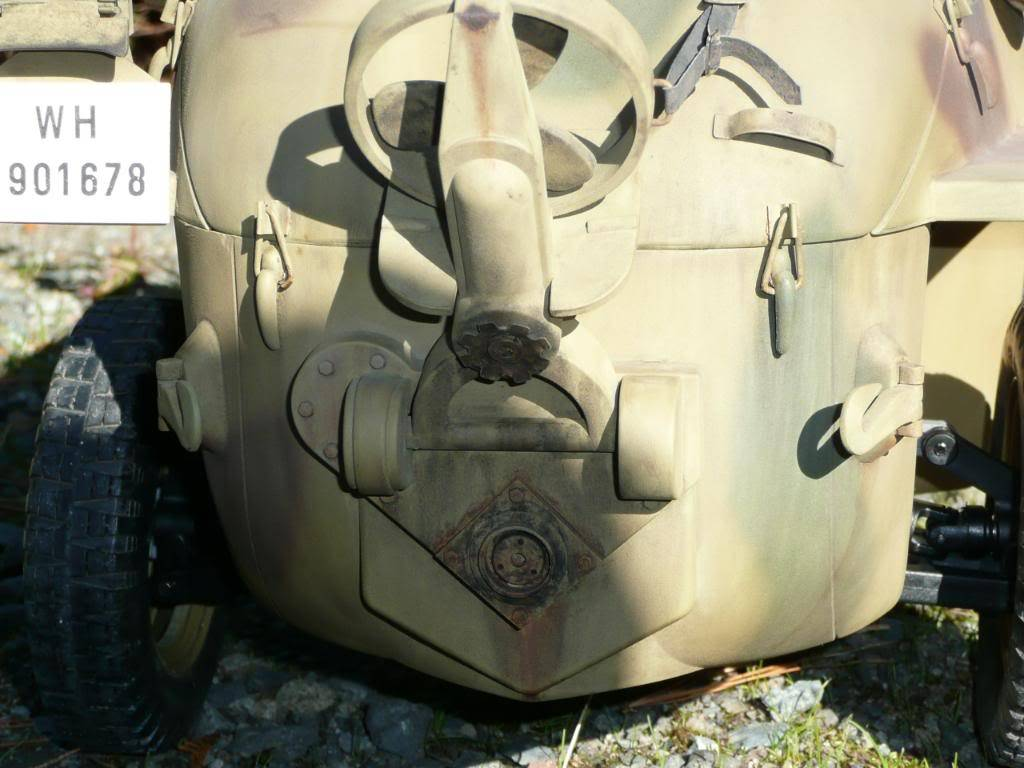 """vehicle - Archive """"old"""" work: RC 21st C Schwimmwagen conversion/scale detailing P1000463"""