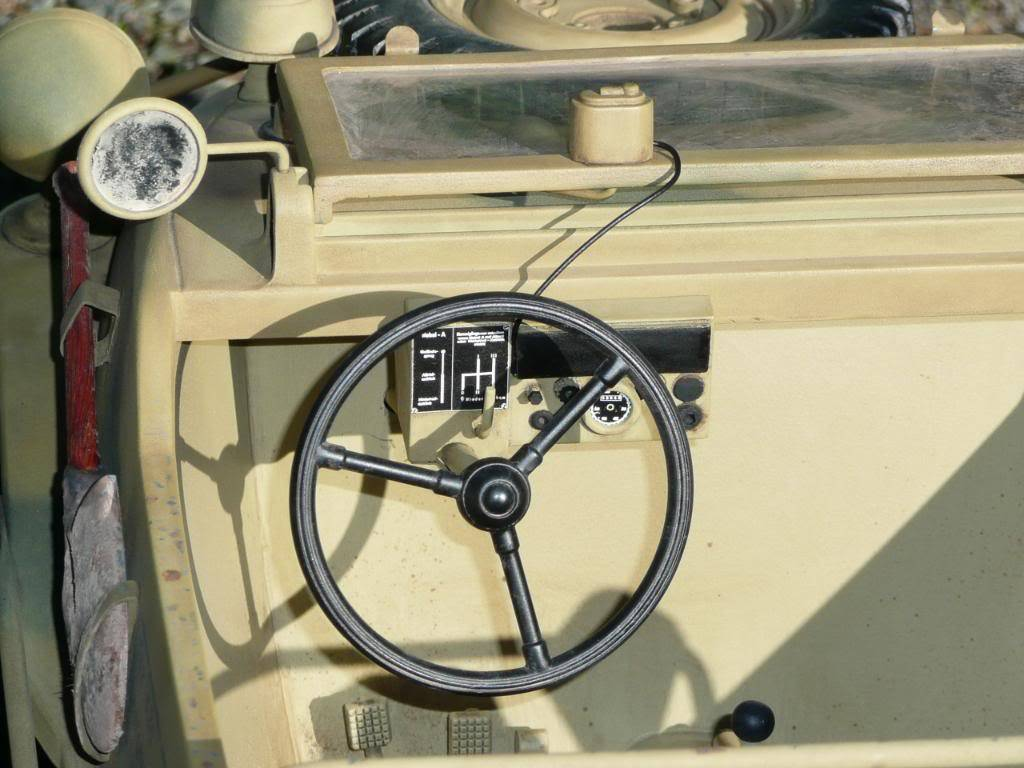 """vehicle - Archive """"old"""" work: RC 21st C Schwimmwagen conversion/scale detailing P1000464"""